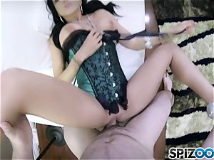 naughty hook-up pie Romi Rain porked in her cunny pudding pov style