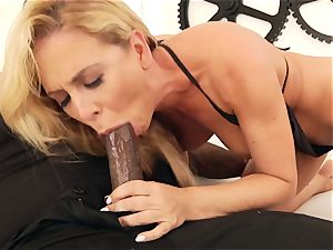 bi-racial rectal pornography with meaty jugs milf Cherie DeVille