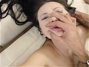 HER restrict - Russian Sasha Rose gets ass pummeled gonzo