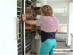 Step mummy penetrating daughter's beau