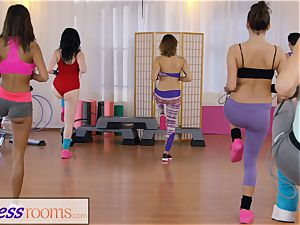 sport apartments gym damsels have lezzy 3 way