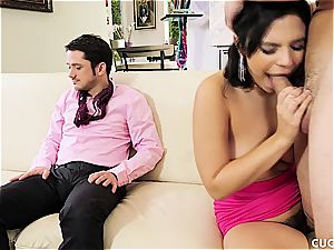 wife gets porked by spouses' bro in a cheating scene