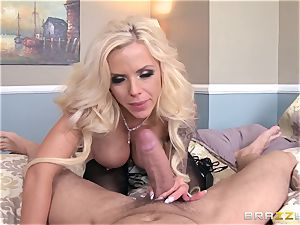 cam dame Nina Elle caught by her stepson