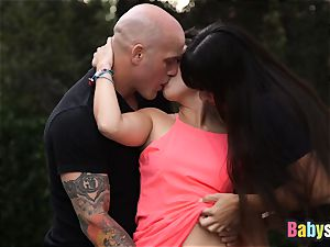 inked fucker gets to slamm two super hot babbysitters firm