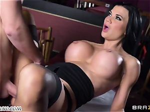 cool huge-titted waitress Jasmine Jae gets her taut cunt fucked by Danny