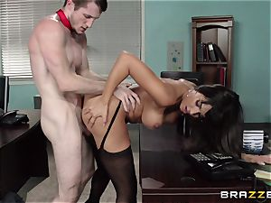 mexican assistant Mercedes Carrera seduced her fresh manager in the office