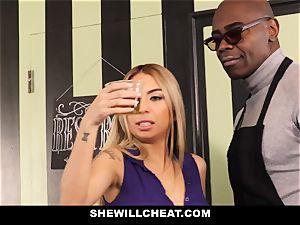 SheWillCheat - whore wifey Cheats With bbc