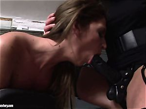 Kathia Nobili lets a super-fucking-hot woman gargle her string on