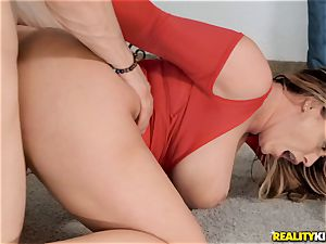 Eva Notty upside down gargling trouser snake