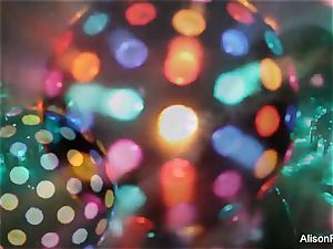 uber-sexy immense jugged disco ball babe
