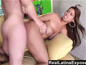 RealLatinaExposed Bridgette B torn up on