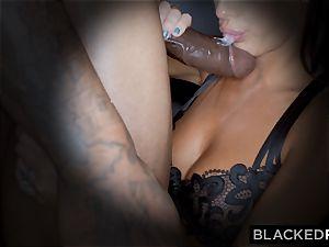 BLACKEDRAW uber-sexy super-steamy wife enjoys to rim black bulls in hotels