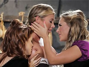 Samantha Saint Penny Pax Carter Cruise 3some