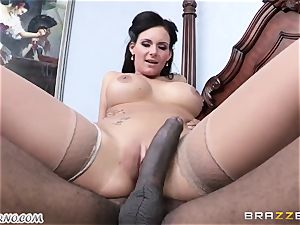 Phoenix Marie is ready to take a ginormous black trunk in her puss
