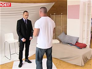 LETSDOEIT - crazy Czech teenager entices Her camera guy