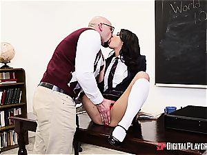 kinky schoolgirl deserves to be punished for her misbehavior