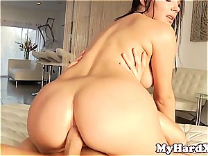 red-hot sex industry star Valentina Nappi anal screwing