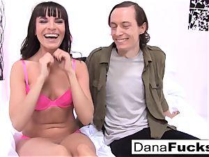 Dana gets bootie fucked by humungous jizz-shotgun Owen