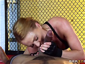 Krissy Lynn gets multiracial penetrating in the ring