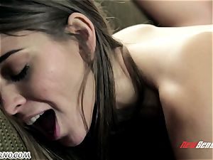 stringent parent punishes his whorish daughter Riley Reid