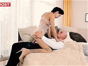 LETSDOEIT - ultra-kinky couple Has Retro dream tough intercourse