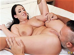 Angela milky bashed in her adorable little donk fuck-hole