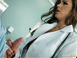 insane doc Abigail Mac riding hard-on